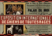 Poster International Dog Show 1932