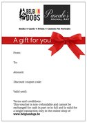 Gift vouchers from 10€ to 100€